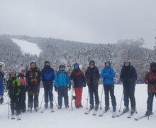 Skiing loon 1