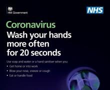 Coronavirus A4 Poster