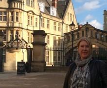 Outside Uni building