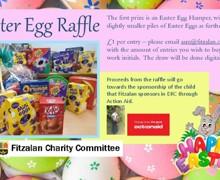 Easter Egg Raffle poster