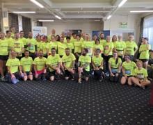 Cardiff Half Marathon Team Photo 2019